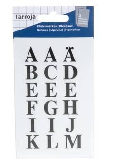 Tarra-arkki kirjaimet 2 arkkia - Tarrat ja tarrakirjat - 150264 - 1