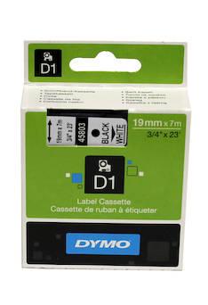 Tarranauha DYMO 19mmx7m 45803 - Tarra- ja kohokirjoitinteipit Dymo - 104074 - 1