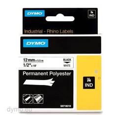 Tarranauha DYMO Rhino 12mm polyesteri - Tarra- ja kohokirjoitinteipit Dymo - 150554 - 1