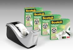 Teippiteline SCOTCH C60 + 4rll 810 - Asiakirjateipit - 104554 - 1