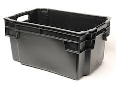 Varastolaatikko musta 50l - Kiinteistövarusteet  - 127484 - 1