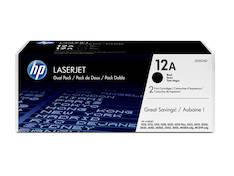 Värikasetti HP 12A Q2612AD laser (2kpl) - HP laservärikasetit ja rummut - 128604 - 1