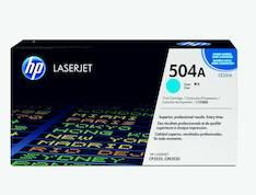 Värikasetti HP 504A CE251A laser - HP laservärikasetit ja rummut - 120684 - 1