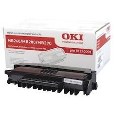 Värikasetti OKI MB260/MB280/MB290 laser - Oki värikasetit - 131334 - 1