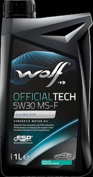 Wolf 65609 officialtech 5w30 ms-f 1l - Autotarvikkeet - 140904 - 1