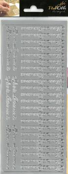 Ääriviivatarra Iloista Pääsiäistä - Tarrat ja tarrakirjat - 151074 - 1