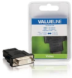 HDMI - DVI sovitin adapateri Valueline - Kaapelit ja kaapelikourut, jatkojohdot - 146285 - 1