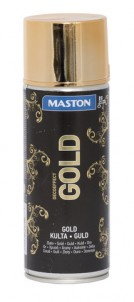 Spraymaali Gold 150ml - Maalaustarvikkeet - 147765 - 1