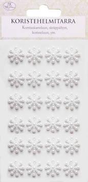 Helmitarra lumihiutale - Tarrat ja tarrakirjat - 149015 - 1