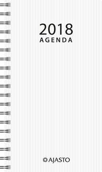 Agenda eko, valkoinen - Ajasto kalenterit - 152595 - 1