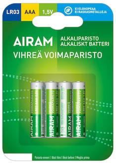 Paristo Airam LR3 AAA alkaline - Paristot - 139475 - 1