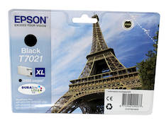 EPSON T7021 XL  mustesuihku - Epson mustesuihkuväripatruunat - 129115 - 1
