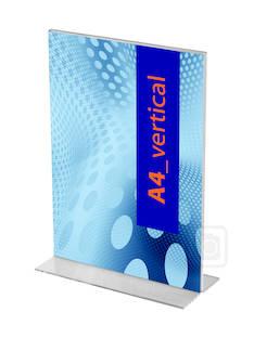 Esiteteline A4/1ark suora - Esitetelineet ja tarvikkeet - 104495 - 1