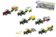 F/p traktori + peräkärry lajitelma - Lelut - 144355 - 1