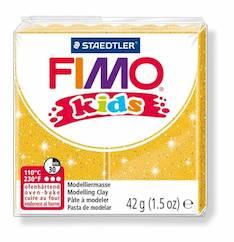Fimo kids glitterikulta - Askartelutarvikkeet - 140775 - 1