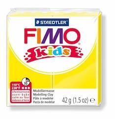 Fimo kids keltainen - Askartelutarvikkeet - 140765 - 1