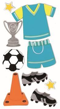 Football-tarra-arkki - Askartelutarvikkeet - 137305 - 1