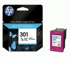 HP 301 CH562EE mustesuihku - HP mustesuihkuväripatruunat - 122465 - 1