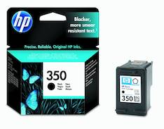 HP 350 CB335EE mustesuihku - HP mustesuihkuväripatruunat - 125015 - 1