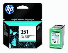 HP 351 CB337EE mustesuihku - HP mustesuihkuväripatruunat - 126315 - 1