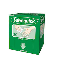 Haavapyyhe CEDERROTH Salvequick - Ensiaputuotteet CEDERROTH - 127015 - 1