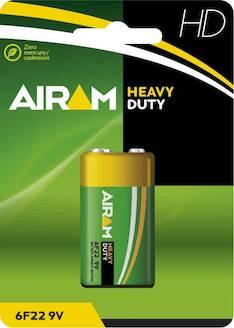 Paristo Airam HD 6F22 9V - Paristot - 139485 - 1