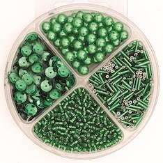 Helmilajitelma 30g 90x10mm vihreä - Askartelutarvikkeet - 137725 - 1