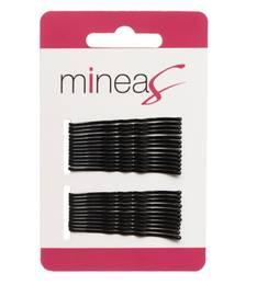 Hiuspinni 24kpl basic musta MINEAS - Hiustarvikkeet - 152265 - 1
