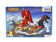 Insigna Cubes Iso Sea Rover Laiva - Lelut - 145195 - 1