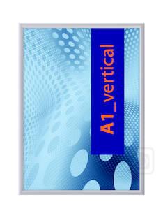 Julistekehys A0/25mm kääntökehys - Esitetelineet ja tarvikkeet - 130465 - 1