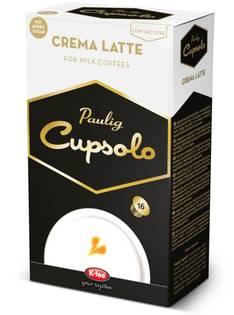 Kahvikapseli PAULIG Crema Latte Cupsolo - Kahvit,teet ja kaakaot - 151385 - 1