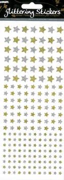 Kimalletarra tähdet - Tarrat ja tarrakirjat - 143415 - 1