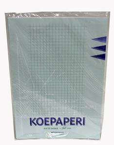 Koepaperi A4/32  7mm PAPERIPISTE - Koe- ja konseptipaperit - 102005 - 1