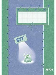 Kouluvihko A5/20 7mm 577 PAPERIPISTE - Kouluvihkot - 101935 - 1