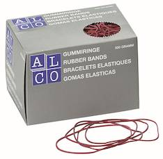 Kumirengas 1,5mmx50mm 0,5kg/pkt ALCO - Kumirenkaat - 130025 - 1