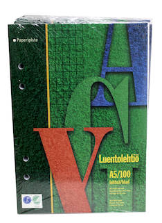 Luentolehtiö A5/100 7x7mm PAPERIPISTE - Avo- ja muut lehtiöt - 102015 - 1