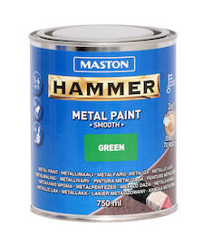 Maali hammer sileä 750ml - Maalaustarvikkeet - 136385 - 1