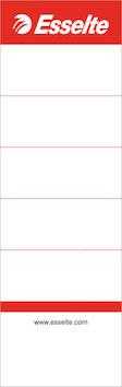 Mappietiketti kartonki 75mm ESSELTE - Etiketit-, tulostuskortit ja tarrakalvot - 115255 - 1