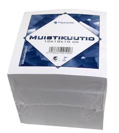 Muistikuutio 10x10x10cm PAPERIPISTE - Avo- ja muut lehtiöt - 127815 - 1