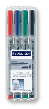 PH-kynäsarja 1-2,5mm vesil. STAEDTLER - Piirtoheitinkynät spriiliukoiset - 126885 - 1