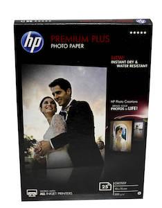 Photopaperi 10x15 300g HP Premium Plus - Valokuvapaperit - 126155 - 1