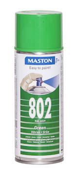 Spraymaali 100 400ml ral6029 - Maalaustarvikkeet - 136245 - 1