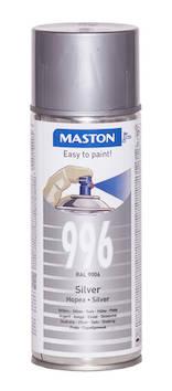 Spraymaali 100 400ml ral9006 - Maalaustarvikkeet - 136255 - 1