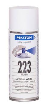 Spraymaali 100 400ml ral9010 - Maalaustarvikkeet - 136235 - 1
