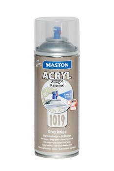 Spraymaali acrylcomp ral1019 400ml - Maalaustarvikkeet - 136215 - 1