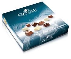 Suklaakonvehti sokeriton 125g Cavalier - Makeiset - 153665 - 1