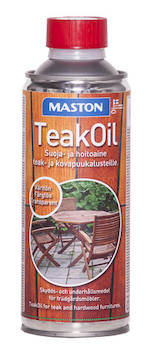 Teak oil 450ml - Maalaustarvikkeet - 136395 - 1