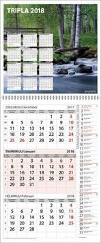 Tripla - Ajasto kalenterit - 152665 - 1