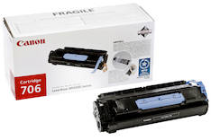 Värikasetti CANON 706 laser - Canon laservärikasetit - 121335 - 1