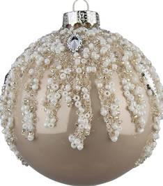 Lasipallo 8cm helmeilevä - Jouluun valot,koristeet,tekstiilit - 153745 - 1